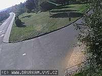 Záběr z webkamery Krásensko