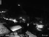Záběr z webkamery Špičák