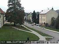 Záběr z webkamery Slatinice