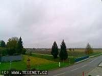 Záběr z webkamery Těšetice