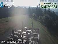 Záběr z webkamery Rožnov p.R.