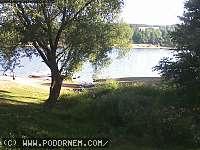 Záběr z webkamery Hoješín