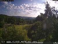 Záběr z webkamery Matějov