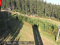 Záběr z webkamery Zadov