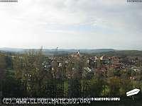 Záběr z webkamery Krásná Hora nad Vltavou