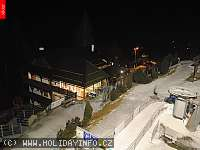 Záběr z webkamery Velké Karlovice