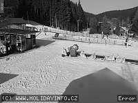 Záběr z webkamery Bílá