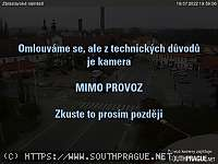Záběr z webkamery Zbraslav