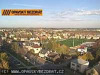 Záběr z webkamery Opava